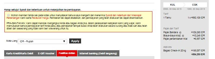 New Installment Payment Option via Bank Mandiri